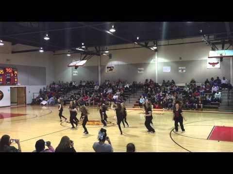 Rossview Middle School Dance Team 2015 8th Grade Night