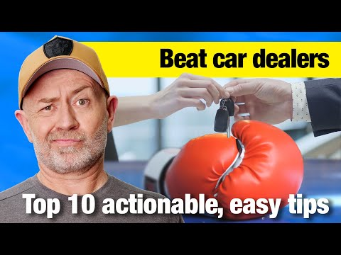 Top 10 Ways to Beat a Car Dealer  Auto Expert John Cadogan  Australia