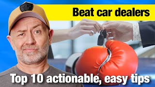 Top 10 Ways to Beat a Car Dealer | Auto Expert John Cadogan