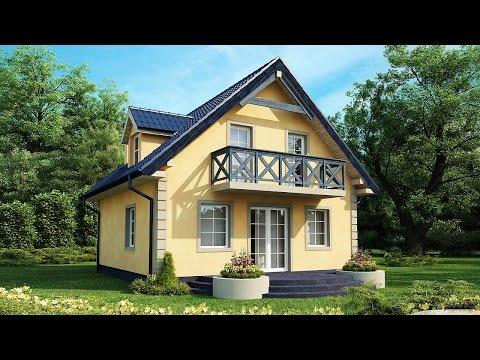 Проекты небольших частных домов