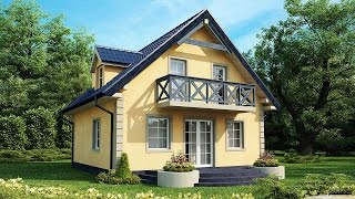 Проекты небольших частных домов(Проекты небольших частных домов становятся с каждым годом более популярными. Небольшой загородный дом,..., 2014-11-08T09:52:33.000Z)