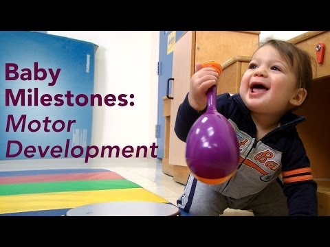Baby milestones and development