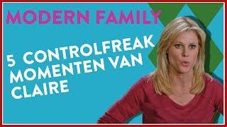 Top 5 CONTROLFREAK momenten van CLAIRE! (Modern Family)
