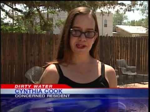 Discolored Water Has Albuquerque Woman Concerned About Her Health