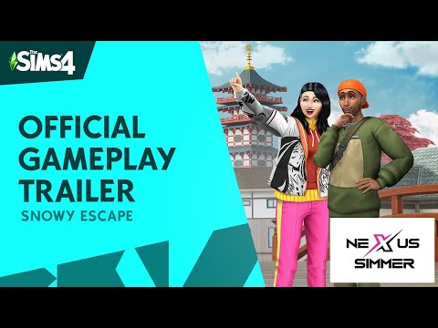Snowy Escape Updated Trailer Reaction - The Sims 4 |