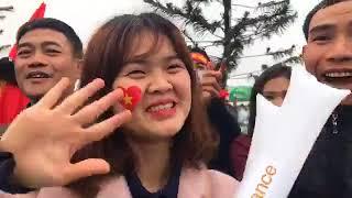 Trực Tiếp lễ đón U23 Việt Nam về nước | Hàng Triệu Người ra Sân bay Nội Bài Hà Nội đón các Cầu Thủ
