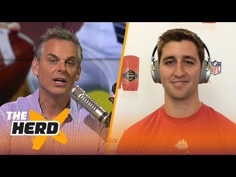 Josh Rosen on what distinguishes him from other QB's, Learning from Aaron Rodgers | THE HERD