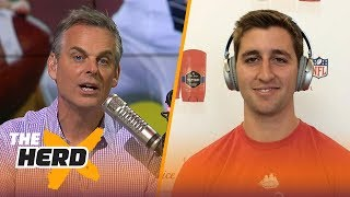 Josh Rosen on what distinguishes him from other QB's, Learning from Aaron Rodgers | THE HERD thumbnail