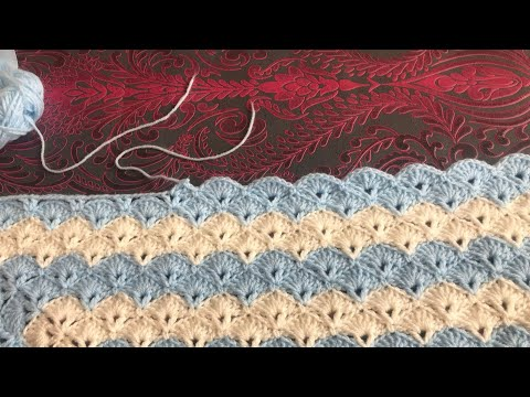 How to join yarn/Quick way to join yarn/crochet blanket part :1