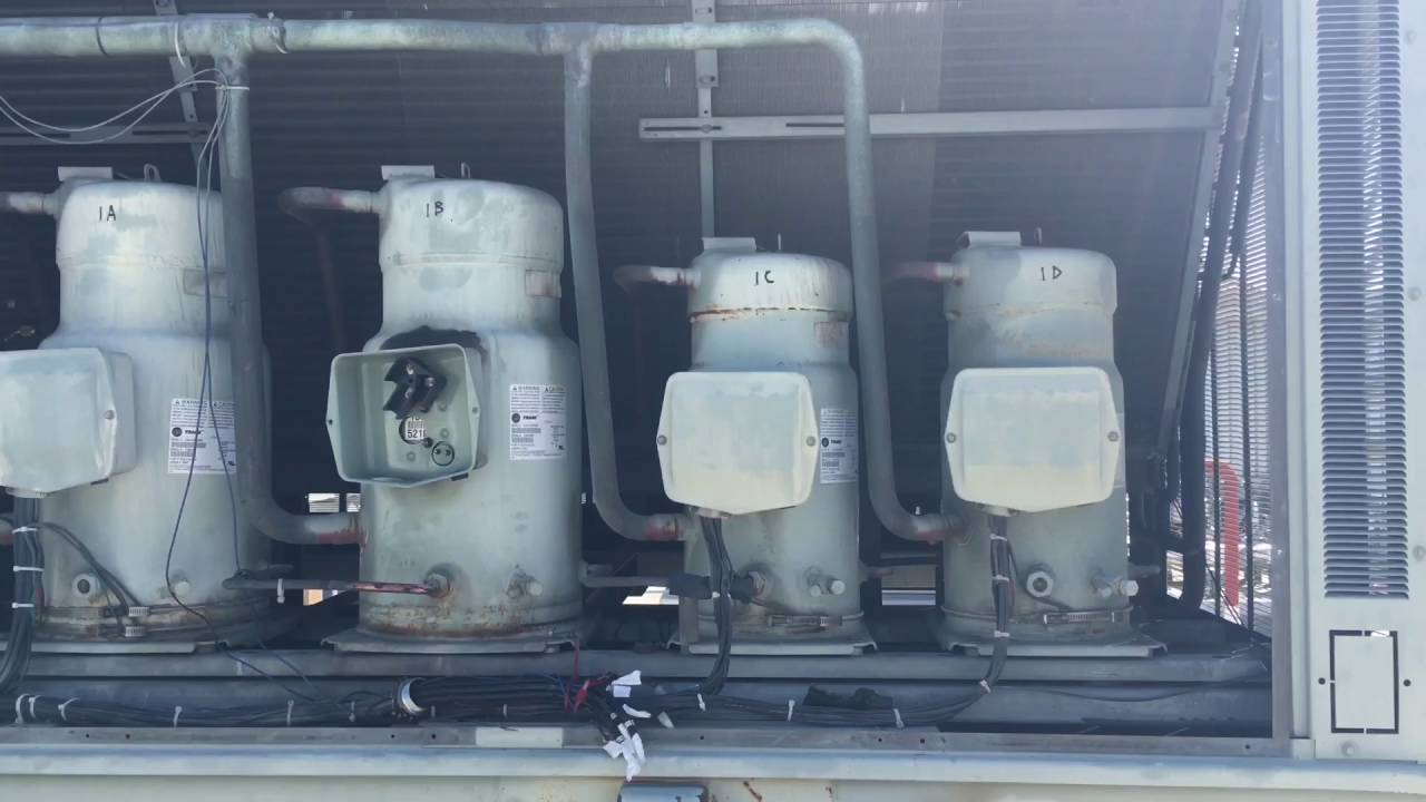 Trane Intellipak compressor changeout