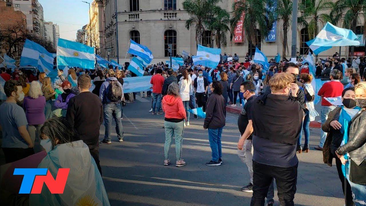 #13S Banderazo contra el Gobierno en distintos puntos del país: Córdoba se sumó a la protesta