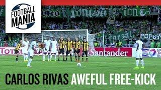 Awful Free-Kick - Carlos Rivas Murillo (Deportivo Cali/COL)