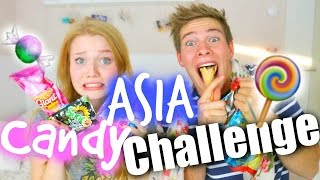 ASIA CANDY CHALLENGE mit Joeys Jungle   Meggyxoxo