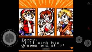 Neo Geo Pocket App: King of Fighters R-2 Team Southtown Gameplay