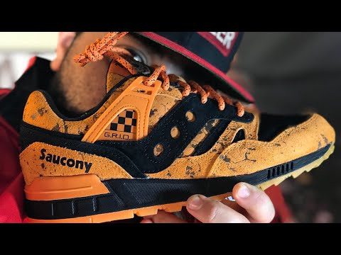 SAUCONY ToNYD2WiLD COLLAB! (1 OUT OF 100 PAIRS!!!!)