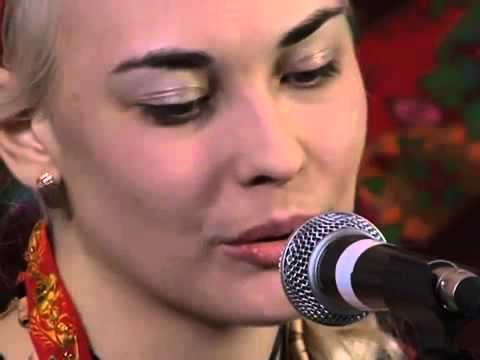 "Славянская певица МЛАДА. ""Разлилась речка быстрая"""