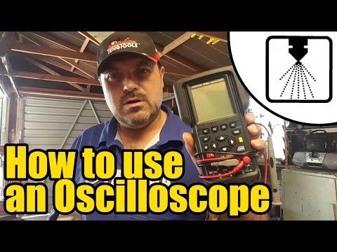 Using an Oscilloscope for testing EFi sensors or actuators #1202