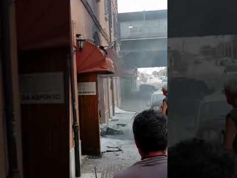 Esplosione Bologna 06/07/2018