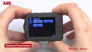 видео Экшн камера AEE S70