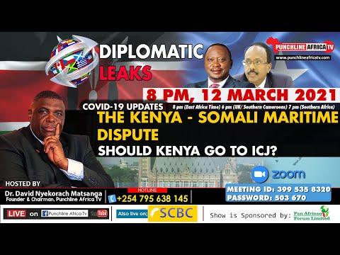 Diplomatic Leaks: The Kenya / Somalia Maritime Case - Should Kenya Go To The ICJ?