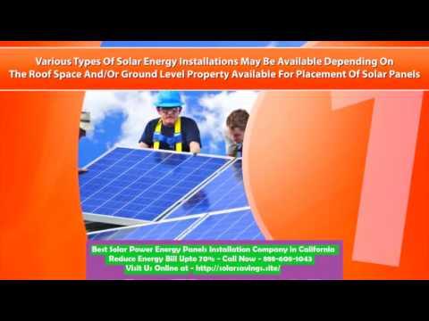 Best Solar Power (Energy Panels) Installation Company in Monrovia California CA