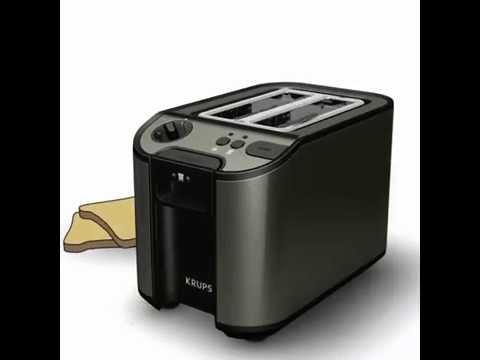 grille pain / toaster titanium de krups : faites griller votre