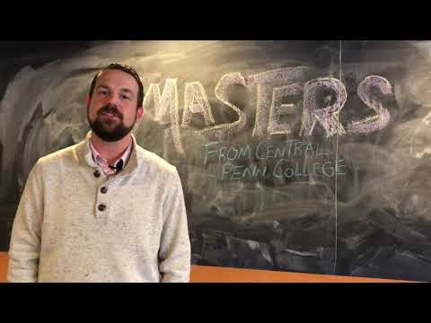 Earn your master's from Central Penn College