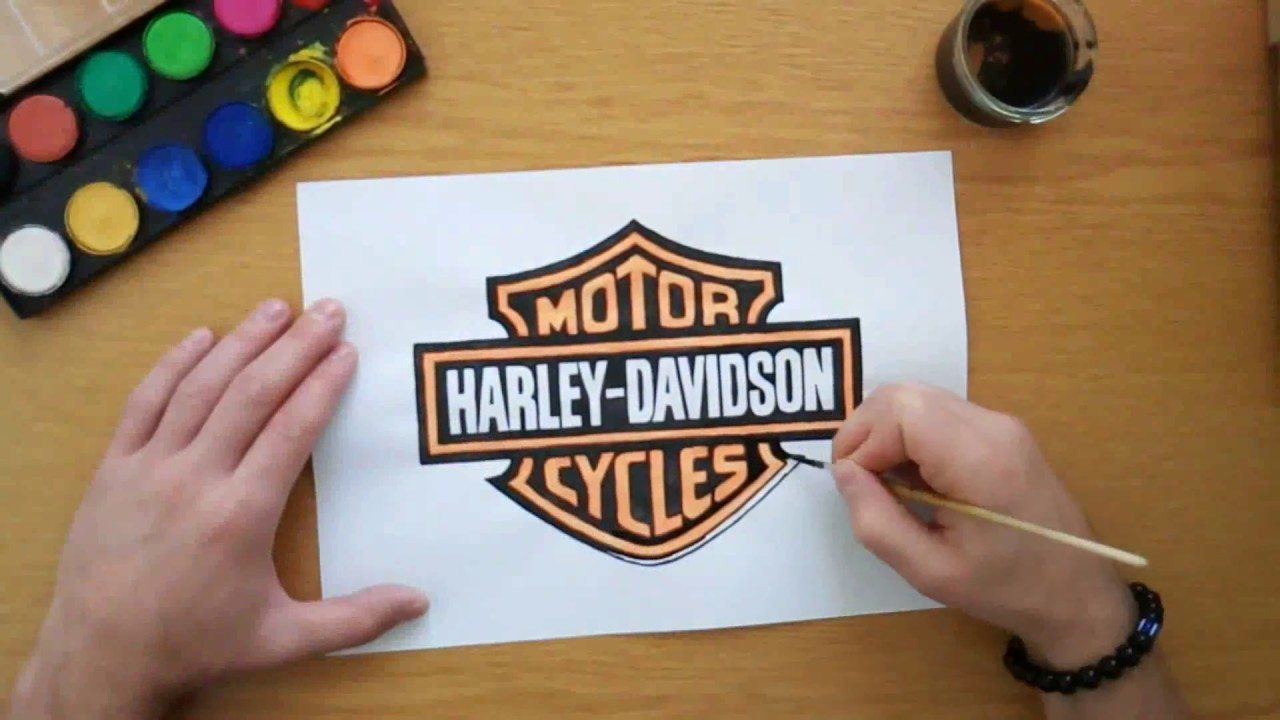 photograph regarding Printable Harley Davidson Logo titled How in direction of attract the Harley Davidson brand