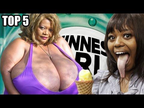 TOP 5 - Největších částí ženského těla