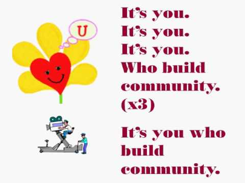 A  It's Christ who build the community