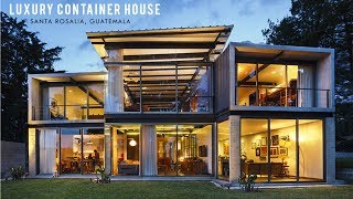 Luxury Shipping Container Home in Santa Rosalia, Guatemala