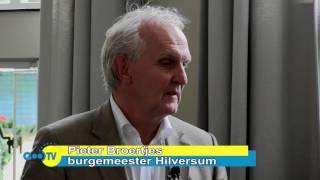 In gesprek met Pieter Broertjes, burgemeester van Hilversum 12-07-2017