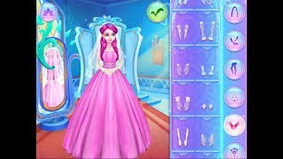 Best Games for Kids Ice Princess Royal Wedding Day Fun Makeup and Makeover Hair Colors Princess Game