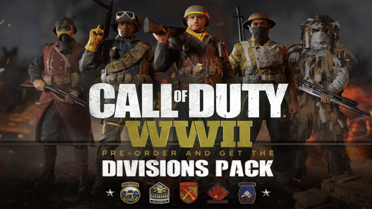 Image result for cod ww2 divisions pack