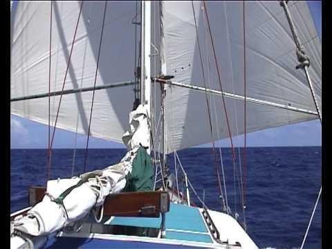 Twizzle Rig 4 downwind Trades sailing  -  7