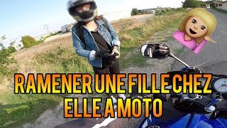RAMENER UNE FILLE A MOTO 👩 | YZF-R125 WITHOUT DB KILLER