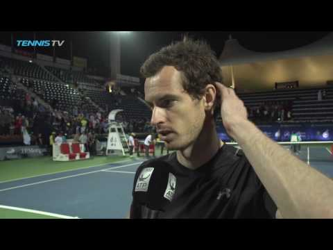 Murray Reflects On First Dubai Title 2017