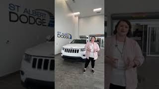 Check out this 2015 Jeep Grand Cherokee Laredo at St. Albert Dodge #shorts