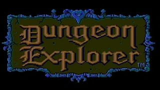 Classic TurboGrafx-16 Game Dungeon Explorer Singleplayer on PS3 in HD 720p