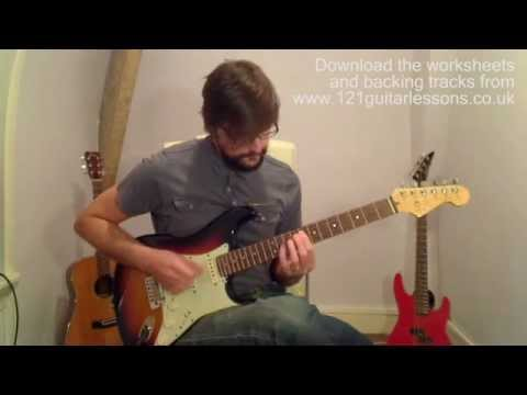 365 Guitar Lessons in 365 Days: 041 - Chromatic Exercise 1c