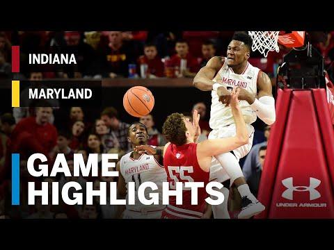 Highlights: Indiana at Maryland | Big Ten Basketball