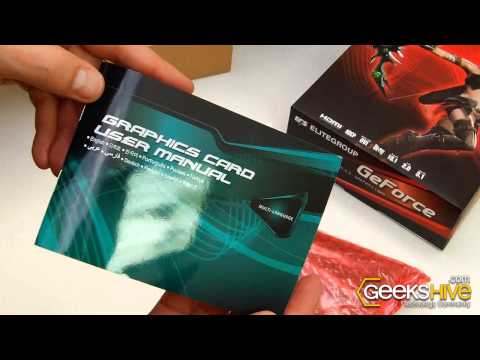 GeForce GT220 ECS - Unboxing By Www.geekshive.com