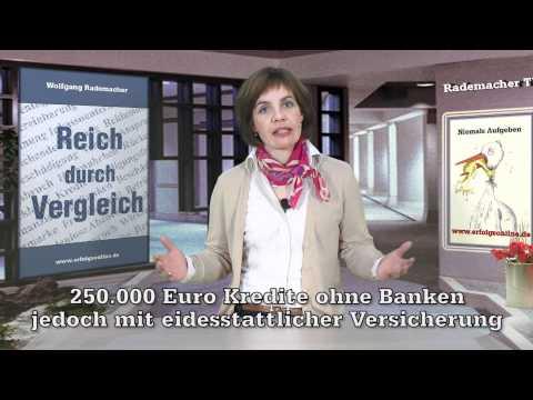 Finanzierungen und Kredite ohne Banken