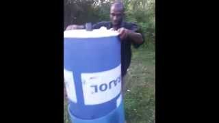 how to make a digester and store biogas