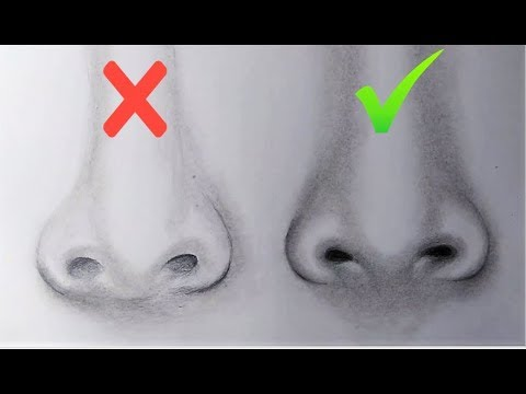 Dos Don Ts How To Draw Realistic Nose For Beginners Art