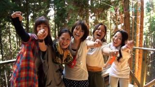 こどももおとなも楽しめる スリル満点の山遊び(兵庫県・朝来市) thumbnail