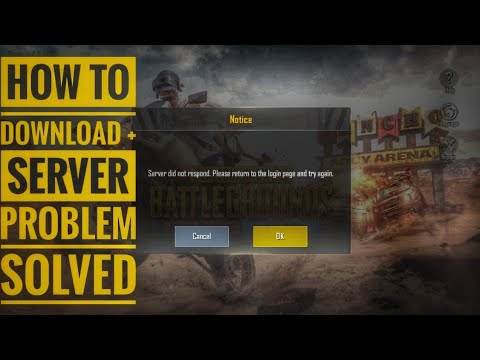 PUBG MOBILE LITE : HOW TO DOWNLOAD & SERVER PROBLEM SOLVED MALAYALAM | PUBG MALAYALAM | NIE AMBRO