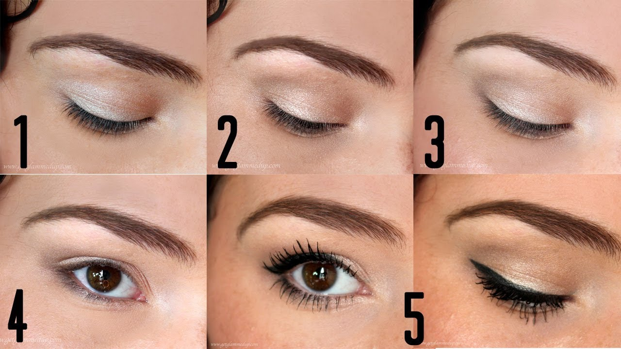 How To Apply Eyeshadow For Beginners Back To Basics Youtube