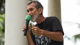 Native Hawaiian Activist Walter Ritte Speaks At Onipaa Kakou