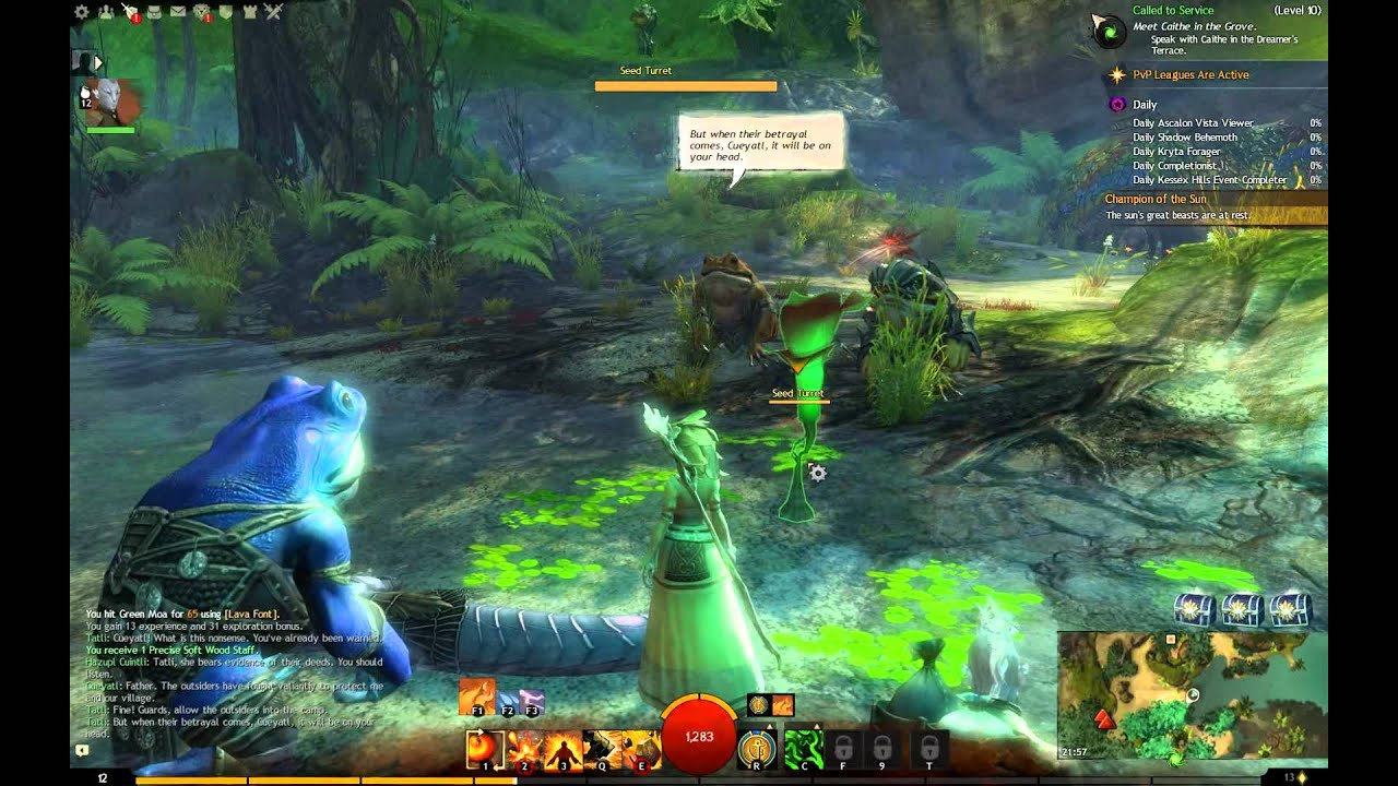 Caledon forest quests
